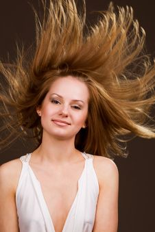Free Flying Hair Stock Images - 9312654