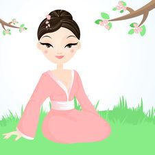 Free Geisha Royalty Free Stock Images - 9313089