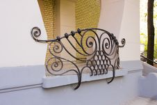 Free Element Of Art Nouveau Building Royalty Free Stock Photo - 9313275