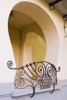 Free Element Of Art Nouveau Building Royalty Free Stock Photo - 9313315