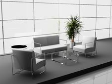 Free Office Interior Stock Image - 9315881
