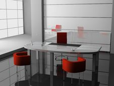 Free Office Interior Royalty Free Stock Images - 9315909