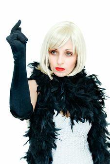 Free Retro Lady Stock Photography - 9316202
