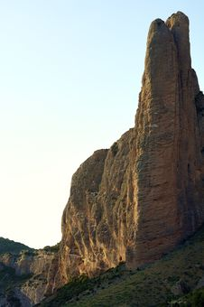 Riglos Mountains Royalty Free Stock Image