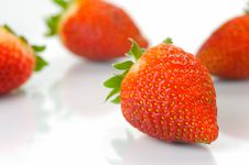 Free Strawberries Royalty Free Stock Photo - 9316785