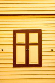 Free Thai Style Wood Window Royalty Free Stock Photography - 9317897