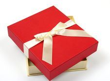 Free Red Gift Box Stock Photography - 9317952