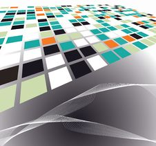 Abstract Background Illustration Design Stock Photo