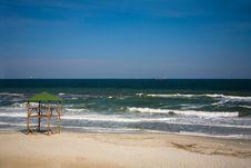 Free Empty Beach Royalty Free Stock Image - 9318376