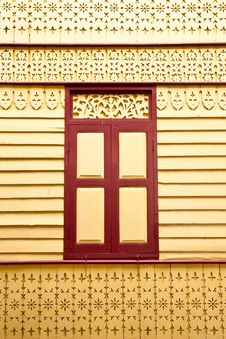 Free Window And Wood Carving Royalty Free Stock Photos - 9318528