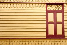 Free Window And Wood Carving Royalty Free Stock Image - 9318706