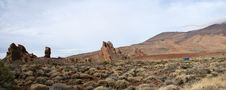 Free Panoramic View Of The Teide Royalty Free Stock Image - 9318766