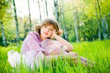 Free Beautiful Girl Outdoors Stock Photo - 9319540