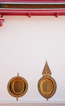 Free Windows Of Buddhist Church Royalty Free Stock Images - 9319939