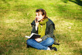 Free A Student In The Park Royalty Free Stock Photography - 9326907