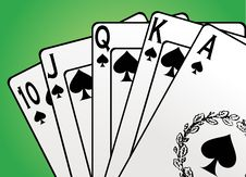 Free Game Cards Vector Stock Image - 9320031