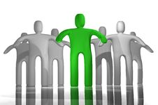 Free Leadership Concept Royalty Free Stock Image - 9320146
