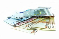 Free Euro Banknotes Stock Photography - 9320622