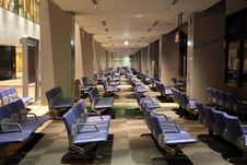 Free Empty Airport Lounge Stock Photo - 9321050