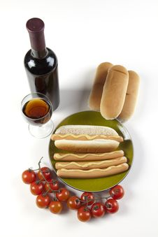 Hot Dogs Royalty Free Stock Image