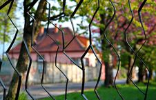 Free Black Metal Fence Stock Photography - 9322422