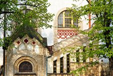 Free Facade Of A Historical Building Royalty Free Stock Image - 9322446