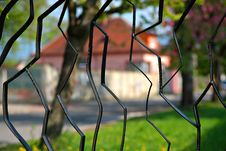 Free Black Metal Fence Royalty Free Stock Photography - 9322467