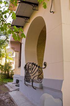 Element Of Art Nouveau Building Royalty Free Stock Images