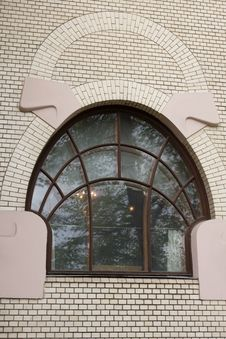 Free Window In Art Nouveau Style Stock Images - 9322784