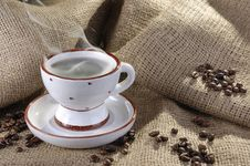 Free Cup Of Coffee Royalty Free Stock Image - 9322896