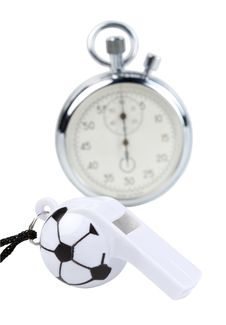 Free Whistle And Stopwatch Stock Photos - 9323233