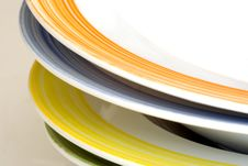 Free Colored Dishes Stock Images - 9323564