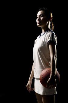 Free Asian Female Sports Player Stock Photo - 9323590