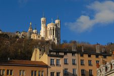 Fourviere Hill, Lyon Stock Photography