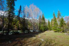 Free Mountain Landscape Royalty Free Stock Photos - 9323768