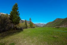 Free Mountain Landscape Royalty Free Stock Image - 9323846