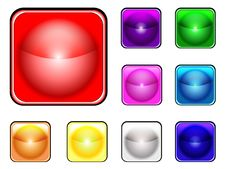 Free Collection On Colorful Buttons Stock Photo - 9324040