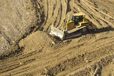 Free Bulldozer Royalty Free Stock Images - 9324809