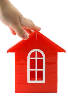 Free Plastic Doll`s House Royalty Free Stock Images - 9325189