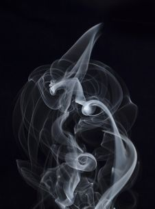 Free Puff Of Smoke Abstract Stock Photography - 9325432