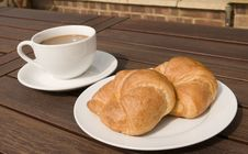 Free Croissant Royalty Free Stock Photography - 9325927