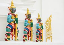 Free Giant Guardian Statue In Thai Style Stock Images - 9327554