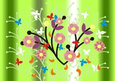 Free Abstract Floral Ornament And Background Stock Photos - 9328713