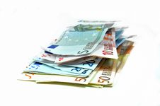 Free Euro Banknotes Royalty Free Stock Photo - 9329445