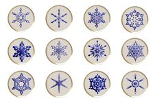 Free Snowflakes Icons Stock Images - 9329524