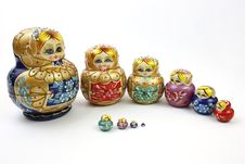 Free Russian Doll Royalty Free Stock Photography - 9329807