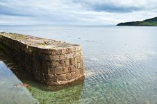 Brodick Old Harbour Royalty Free Stock Photography