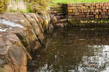 Brodick Old Harbour Royalty Free Stock Images