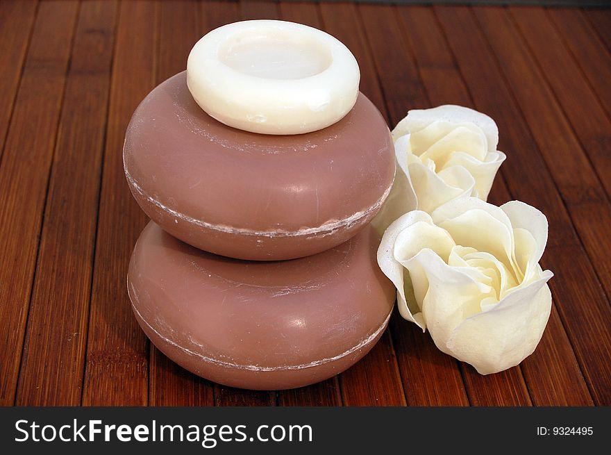 Rose soap 2