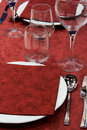 Free Red Table Setting Stock Images - 9335284